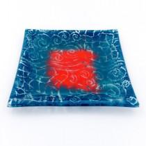 Square Glass Plate