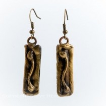 Brass Earrings From Brazil