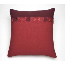 Hand Woven & Embroidered Pillow