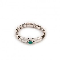 Silver & Turquoise Bracelet From Indonesia