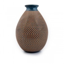 Geometric Incised Vase From Nicaragua
