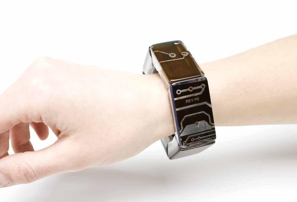 Slim resin bracelet