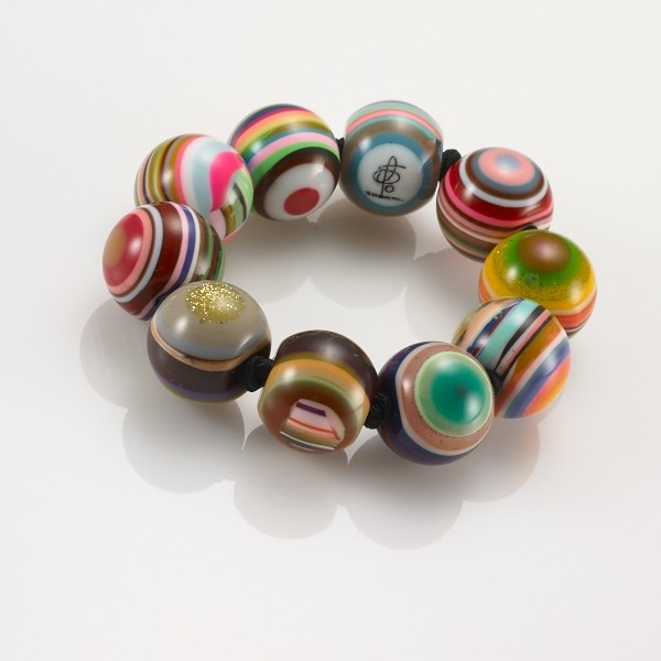 Multicolored Bead Bracelet