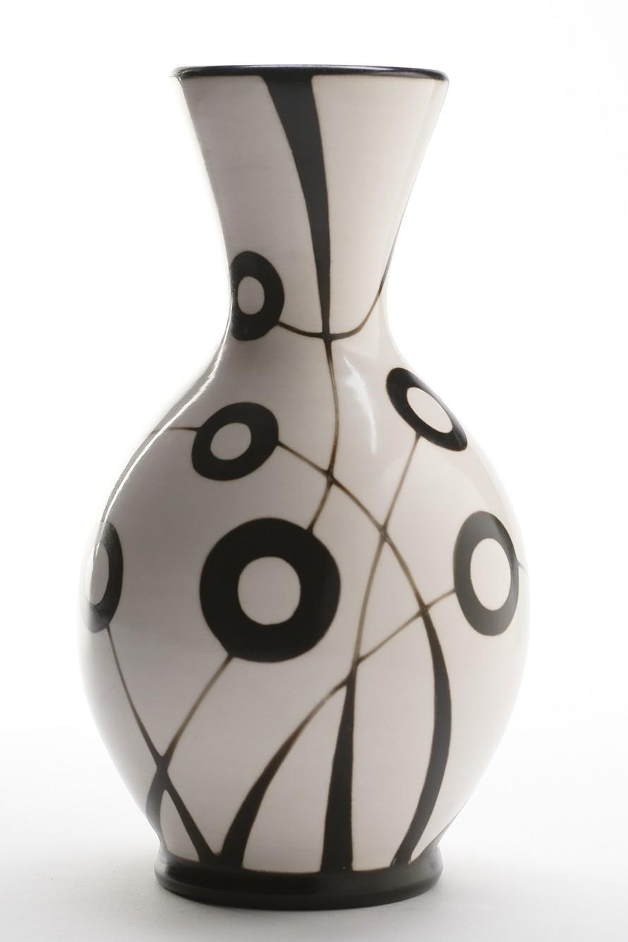 Rounded Long Neck Vase