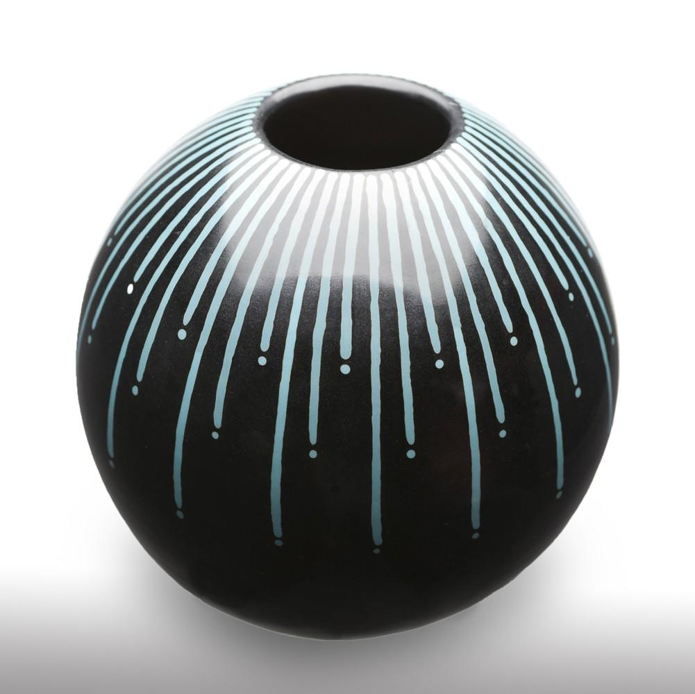 Round Pottery Vase