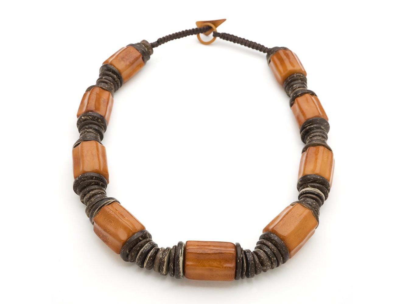 Tagua Bead Necklace