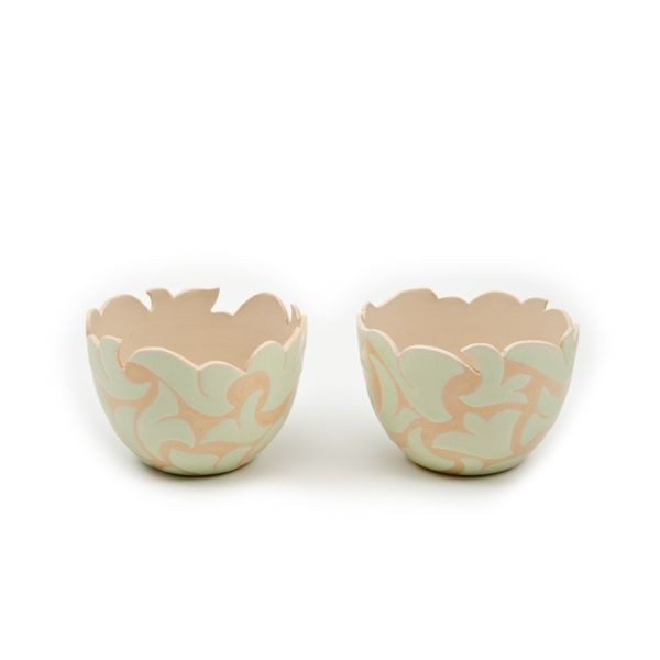 Stoneware Nut Bowls From Jordan