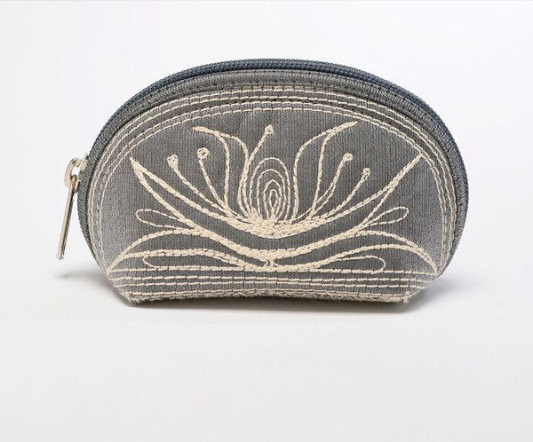 Embroidered Coin Purse from Indonesia