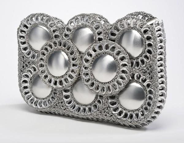 Pull-tab & Aluminum Clutch From Brazil