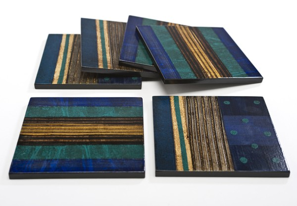 Hand-painted Coasters From Brazil