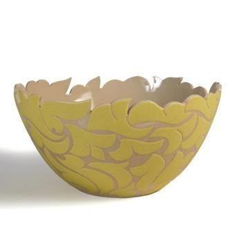 Stoneware Salad Bowl From Jordan