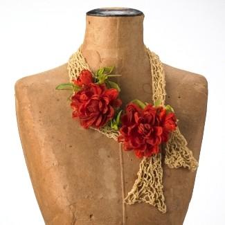 Cerrado Flowers with Crocheted Sash