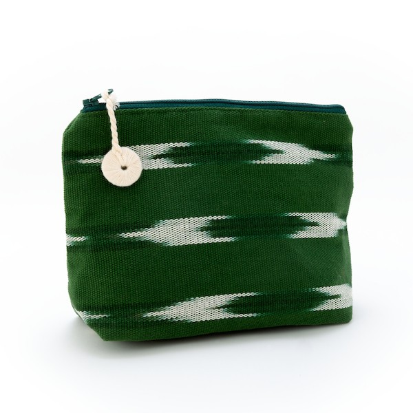 Handwoven Cosmetic Bag From Guatemala