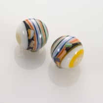 Multicolored Bead Earrings