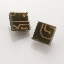 Square Resin Earrings