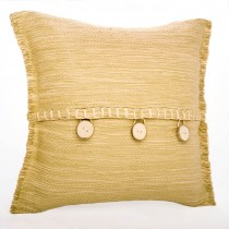 Raffia Throw Pillow