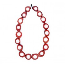 Vegetable Ivory Link Necklace