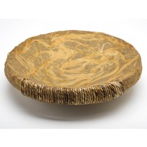 Circular Serving Tray From Brazil