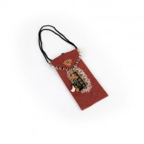 Hand Embroidered Petite Bag