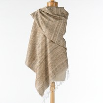 Natural Silk Shawl