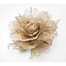 Natural Cerrado Flower Brooch