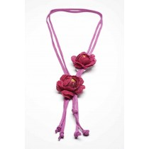 Double Cerrado Flower Necklace