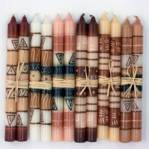 Hand-painted Candles (Six Pairs)