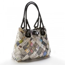 Recycled Candy Wrapper HandBag From Peru