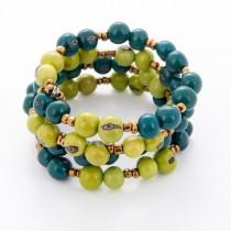 Acai Seed Wrap Bracelet From Ecuador