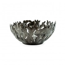 Recycled Steel Oil Drum Basket From Haiti