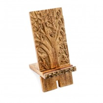 Mango Wood Smartphone Holder From India