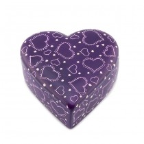 Soapstone Heart Box From Kenya
