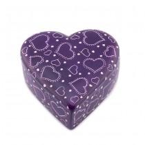 Soapstone Heart Box From Kenya